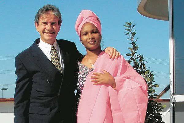 Dutch Tycoon Tob Cohen with his wife Sarah Kamotho. PHOTO | RMS