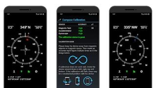 rekomendasi aplikasi compass android accurate compass