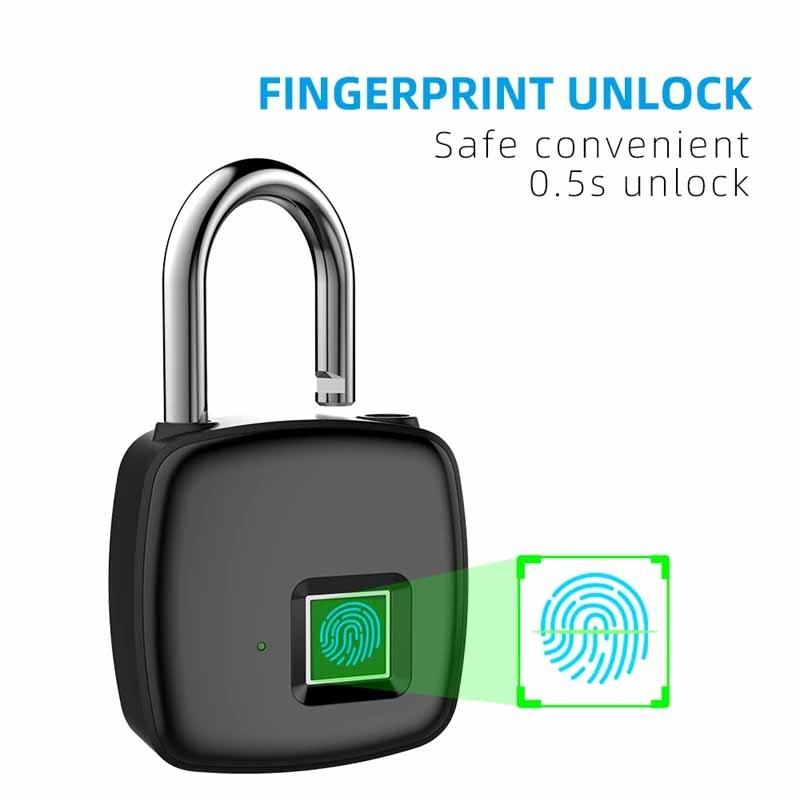 Fingerprint Padlock for Door and Home Review