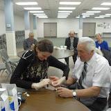 Spotkanie medyczne z Dr. Elizabeth Mikrut przy kawie i pączkach. Zdjęcia B. Kołodyński - SDC13640.JPG