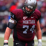 Grizzlies outside tackle, Jon Opperud.