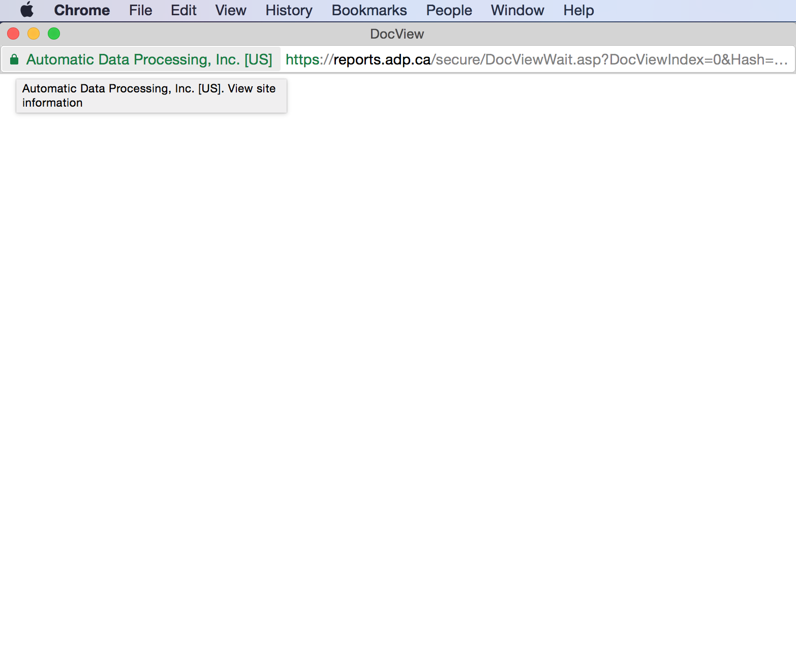 DocView pages are showing up blank in Chrome, but not Internet