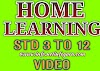 "[STD-8] DD Girnar Live TV ""Home Learning"" Videos by GCERT, SSA Gujarat"