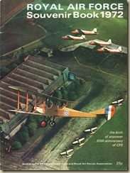 Royal Air Force Souvenir Book 1972_01