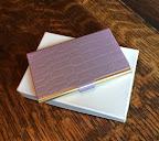 カードケース(パープル) クロコの型押し¥3,500(税別)