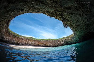 Pantai marieta tersembunyi meksiko