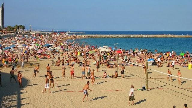 Férias de Praia em Barcelona