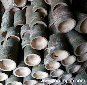 Bambu untuk pembuatan mangkuk