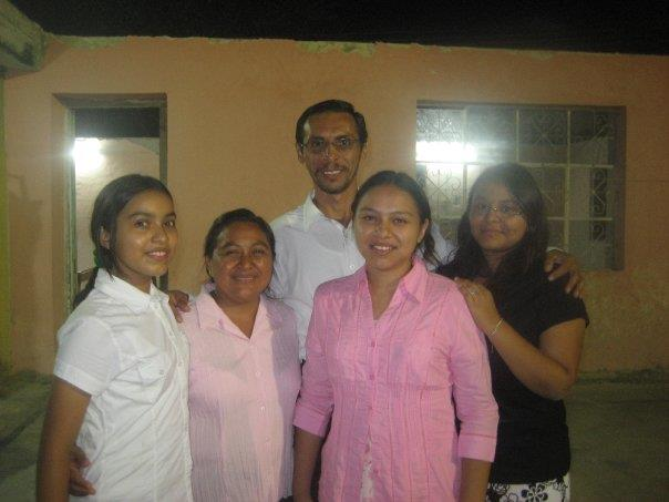 This is a shot of Pastor Rudy and his family.