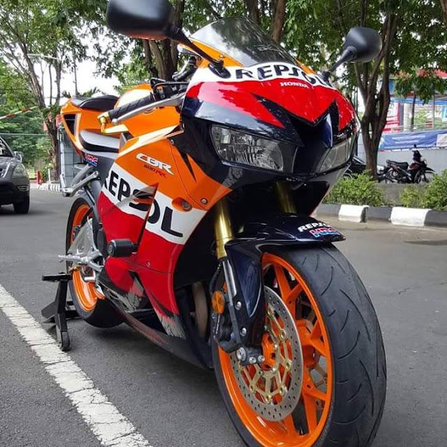 Moge Sport Bekas CBR600 Repsol 2014 Siap GAS - SURABAYA