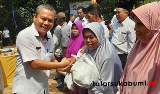 8 ribu sembako murah bagi warga 3 Kecamatan di Kabupaten Sukabumi