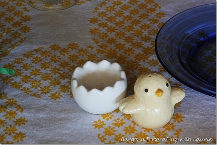 Easter Tablesape-Bargain Decorating with Laurie