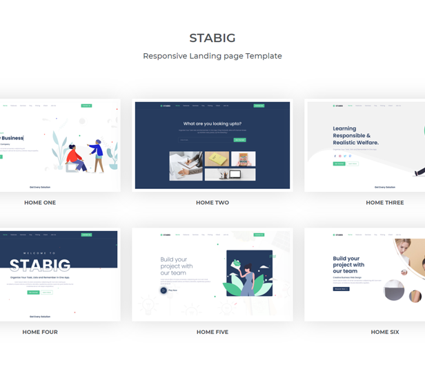 Stabig - Bootstrap 5 Creative Landing Page Template - 1