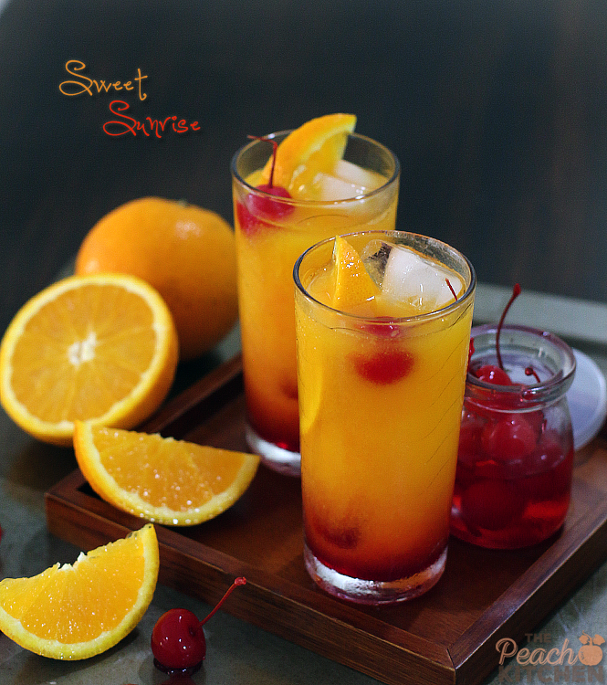 Sweet Sunrise Mocktail