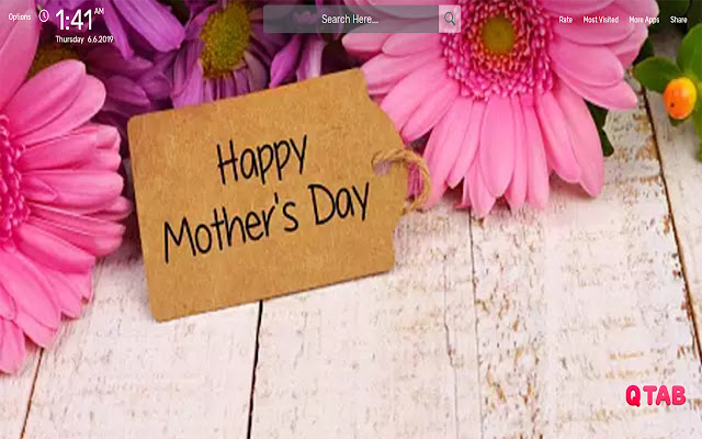 MOTHER'S DAY Wallpapers HD Theme