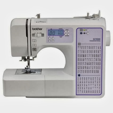 Brother SC9500 Computeized Sewing & Quilting Machine 90 Stitiches with Wide Table