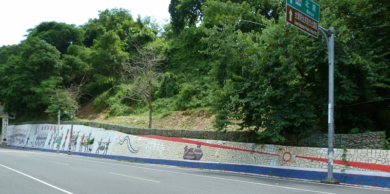 Tainan County.De Dona village à Meinong via Sandimen en scooter.J 12 - P1220564.JPG