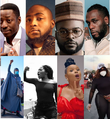 #EndSARS: Court Stops Prosecution Of Davido, Pastor Sam Adeyemi, Falz And Others