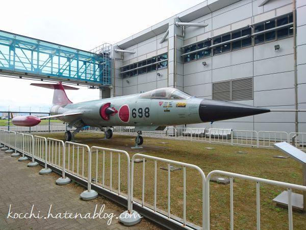F-104J-斜め前から