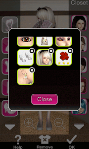 Click to Enlarge - Style Me Girl Level 25 - Floral - Sarah - Closet