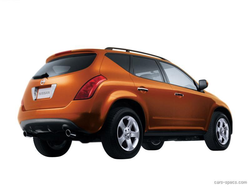 2003 Nissan Murano Suv Specifications Pictures Prices