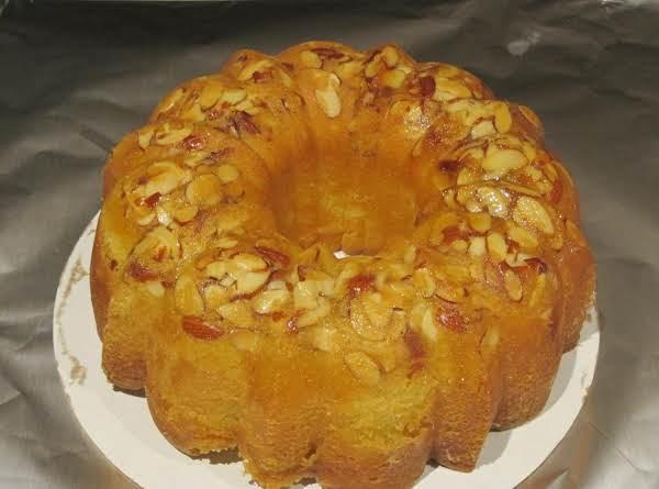 Almond Limoncello Pound Cake