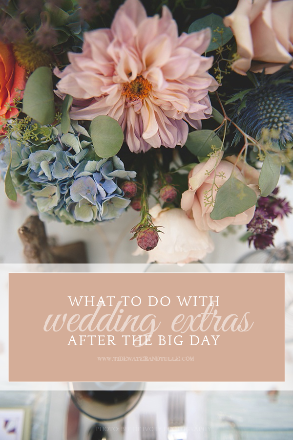 Where To Donate Your Extra Wedding Stuff