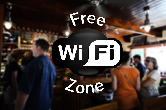 Free WiFi, free browsing,
