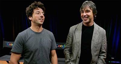 Larry Page và Sergey Brin - Hai nhà đồng sáng lập của Google