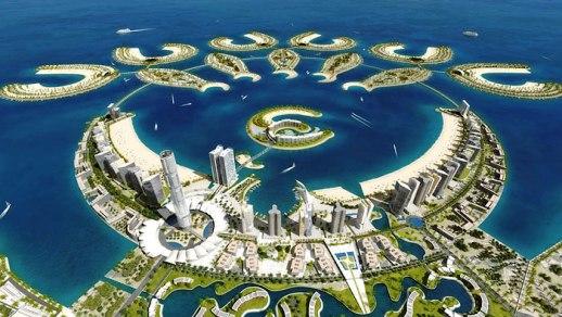 Bahrain - Durrat al Bahrain off-shore site  (photo-wayfaring.info)