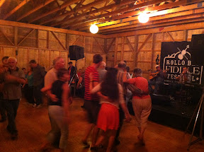 "Rollo Bay Fiddle Festival - Sunday night dance.  ""the Souris Set""."