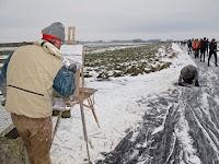 Action painter