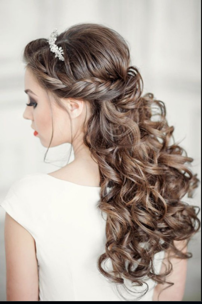 Latest Wedding Hairstyles For Long Hair 9