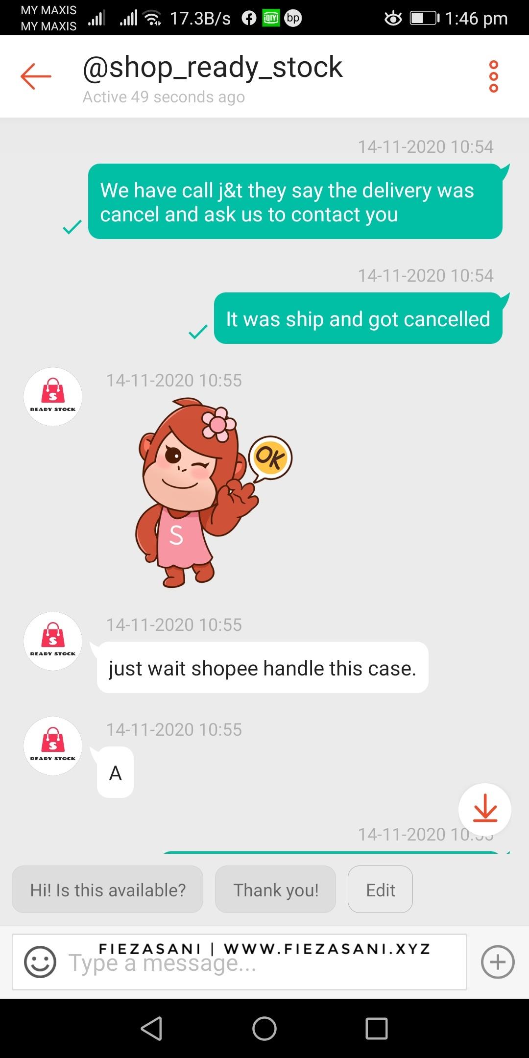 refund dari shopee, tak terima barang shopee, dispute refund