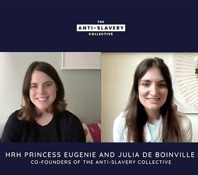 Princess Eugenie Debuts Sleek New Hairstyle in Touching Video Message