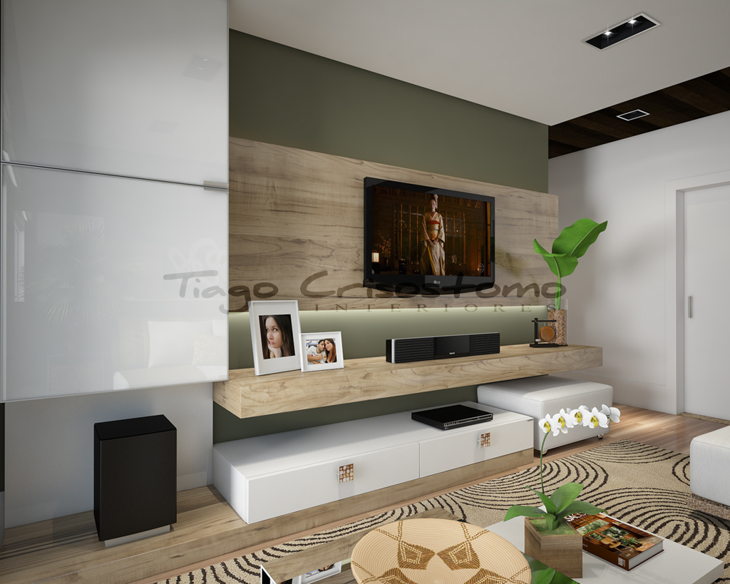 tiago crisostomo sala de tv. Black Bedroom Furniture Sets. Home Design Ideas