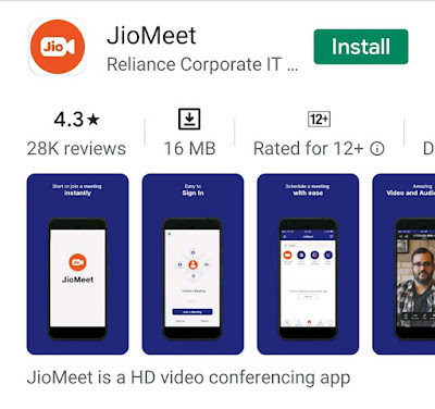 Conflict Between Zoom and Jio Meet  over user interface copy