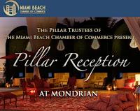 Pillar Reception at Mondrian July 2011