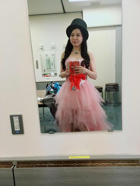女性マジシャンの衣装|!? アリス(有栖川 萌)公式ブログ|マジックショー,イリュージョン,手妻(和妻,和風手品)の全国出張承ります♪