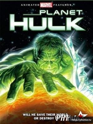 Phim Người Khổng Lồ Xanh - Planet Hulk (2010)
