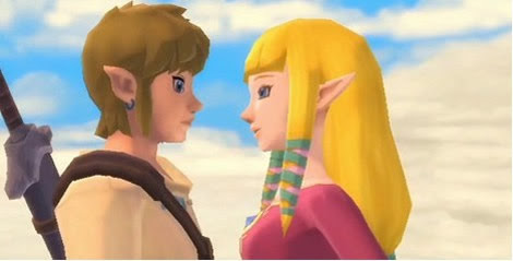 Link and Zelda (Legend of Zelda: Skyward Sword)