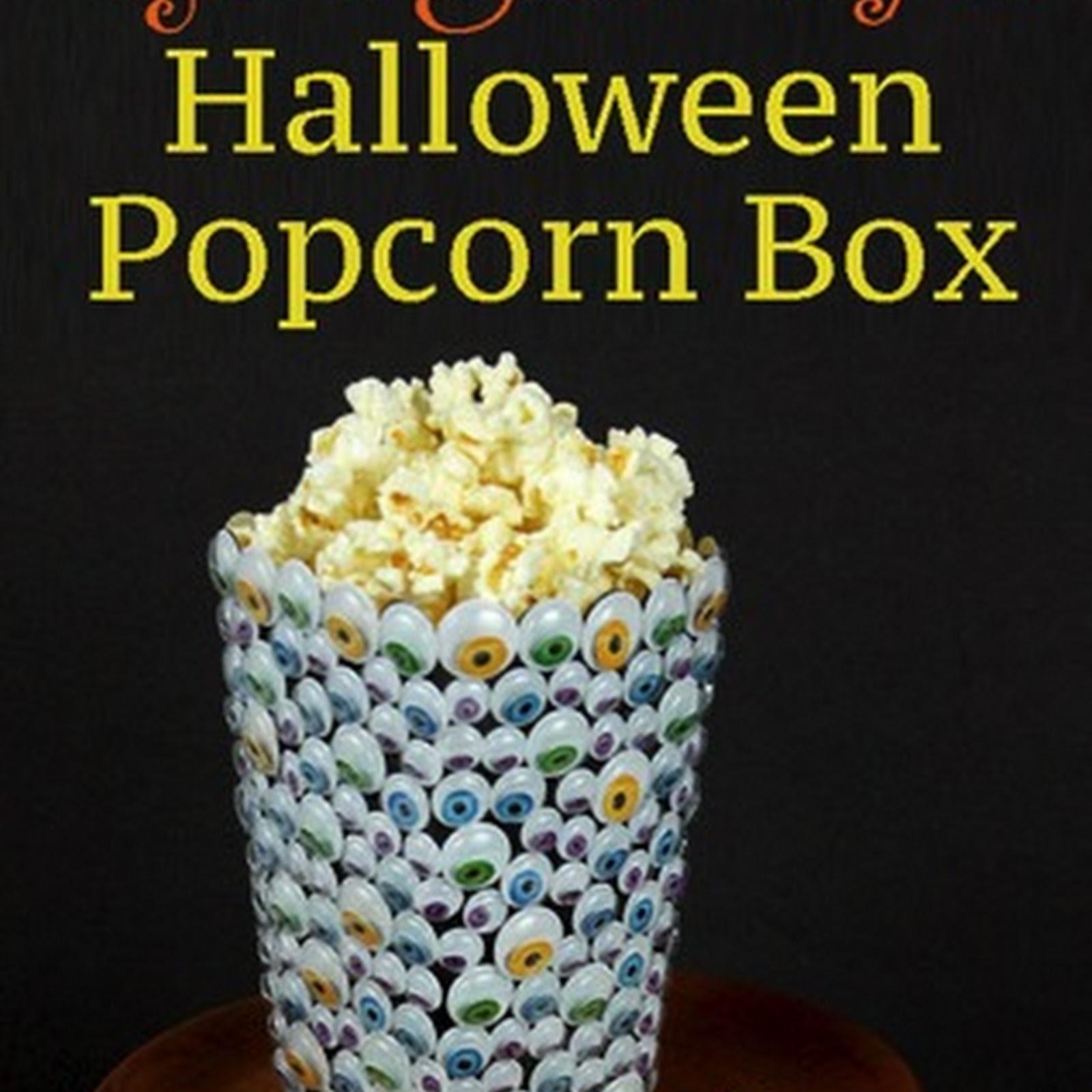 Popcorn Box Challenge: Googlie Eye Box