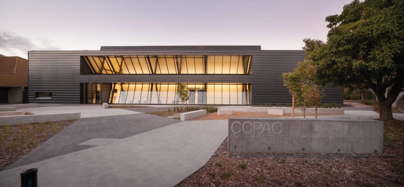 Canberra Territorio della Capitale Australiana 2601, Australia: Performing Arts Centre by Bvn Architecture