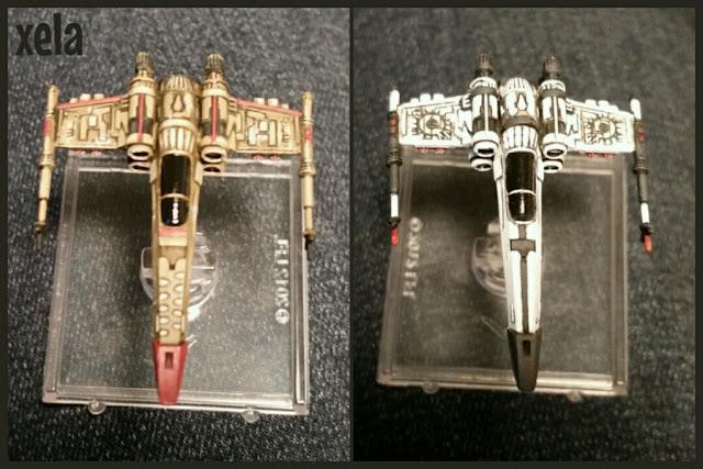 Z-95 Bossk Hound's Tooth scum y Z-95 Sol negro pintadas por Xela