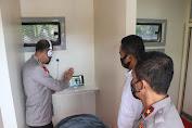 Di Polda Aceh Aceh ada Tempat Besuk Tahanan Secara Online dan Ditinjau Irwasum Polri