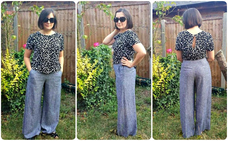 There's just one alteration I've made to the top pattern – I shortened 2 cm  above the waist. The CB length neck to waist was over 40cm, which is huge I  ...