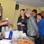 De délicieux sandwiches et soupes étaient proposés durant toute la nuit aux spectateurs...!