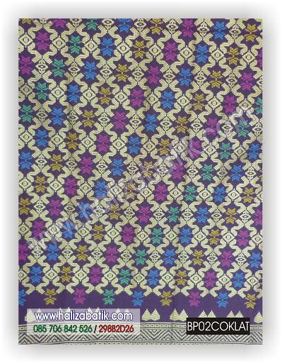 Pekalongan Batik, Batik Modern, Grosir Kain Batik, BP02 COKLAT