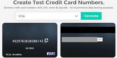 Best Virtual Credit Card Generators with Money