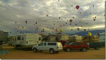 Our Rig at Balloon Fiesta